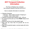 2017 Compost Collection Information
