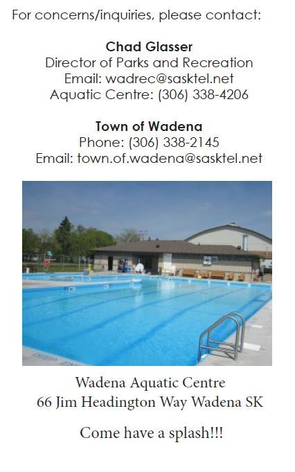 Aquatic Centre Flyer 4