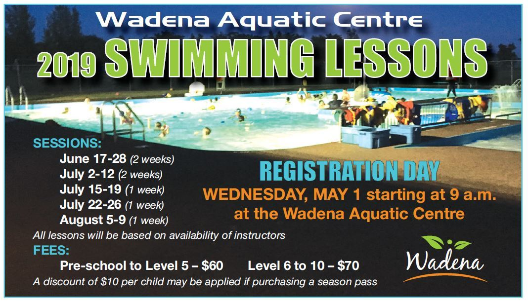 2019 Swimminf Lessons Registration Day