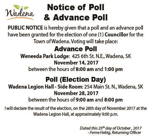 Notice of Poll Ad